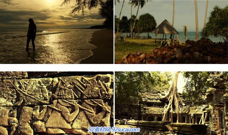 柬埔寨 旅游 实拍