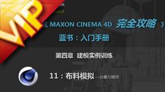 C4D中文入门基础24 模拟制作台幕与窗帘布料视频所有白菜免费彩金网址