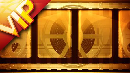 42个金黄色彩光芒通道硬币沙岸椰林超炫配景