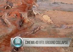 使用Cinema 4D制作地面完全崩溃效果教程视频  卷一 Cinema 4D VF