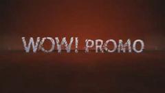 火花粒子碎片组合笔墨展现动画字幕标题Logo标记AE模板 Wow-promo