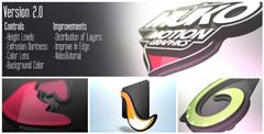 3D笔墨Logo标记展现AE模板共2款 Logo 3D Levels V2