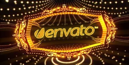 黄金霓虹灯歌舞表演娱乐节目宣传包装AE模板 Envato Show