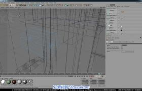 C4D中文室内建模教程4 室内道具建模B视频教程