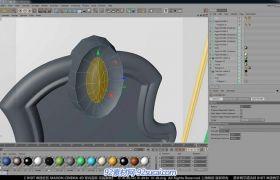 C4D中文室内建模教程10 室内道具建模H视频教程