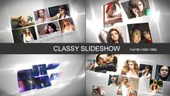 优雅简洁大方的幻灯片介绍电子相册图文AE模板 Classy Slideshow