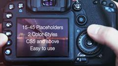 单反相机数码相机摄影电子相册展示AE模板 Photographer Promo