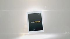平板电脑时时彩注册送47元彩金标志AE模板 iPad Air Elegant Corporate Logo Intro