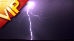 28組云層平原彩虹閃電自然現象高清實拍