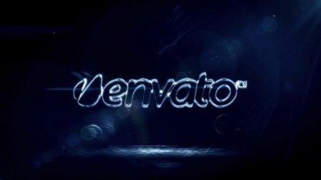 水纹logo展示ae模板 Water Reveal
