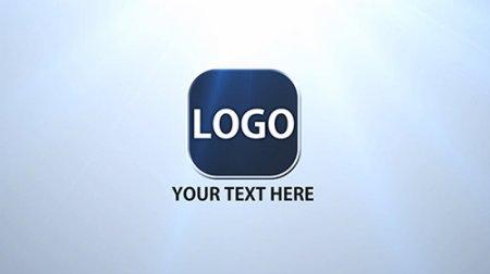 简易拼图碎片飞舞移动汇聚LOGO标志AE模板 Logo Pieces