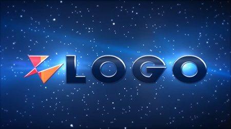 超炫星空隧道绚丽粒子效果LOGO标志片头AE模板vb-Wormhole Logo