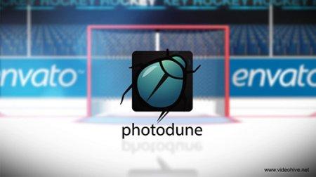 冰球排球足球体育运动logo标志AE模板 sport pack logo reveal