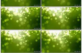 清新绿色粒子光效高清背景动态视频素材