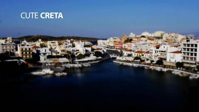 延时摄影 唯美浪漫的欧洲希腊克里特海滨城市风景高清实拍