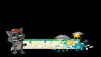 灰太狼六一儿童卡通字幕条栏目条晚会常用动态前景视频素材