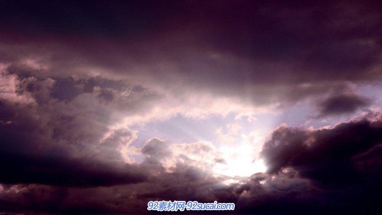 8个高清蓝天白云 天空云飞翔 高清实拍视频素材