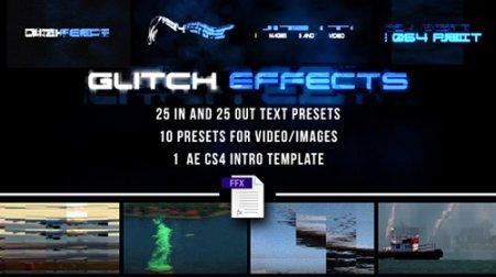 預置文本和視頻AE模版