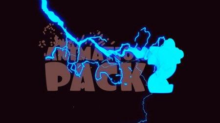 100组卡通2D二维动画元素特效素材包AE素材 Animation Pack 2