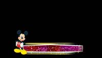 米老鼠炫彩粒子线条 儿童卡通字幕条栏目条高清视频带通道
