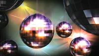 玻璃球抒情色彩 酒吧动感舞台LED视频背景素材