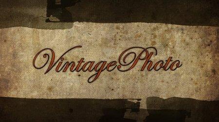 复古风格电子相册AE模板 Vintage Photo