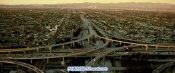 航拍都会公允 都会路途交通车流高架立交桥上的车流高清实拍