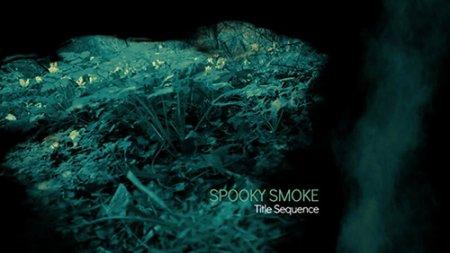 幽灵般的烟雾效果AE模板  Spooky Smoke Intro