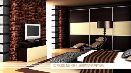 家居类电视栏目包装AE模板 Interior Showcase