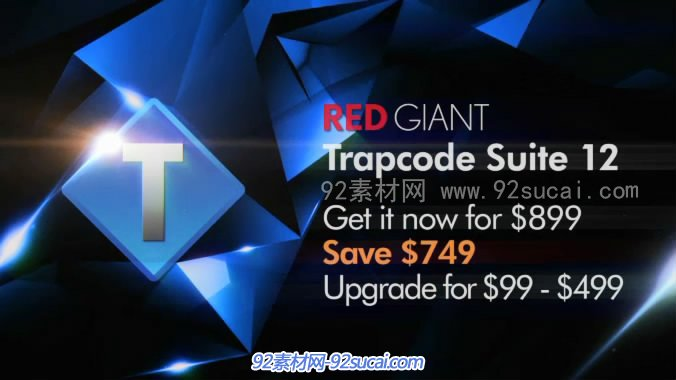 AE CC特效插件套装Red Giant Trapcode Suite支持32/64x(Win/Mac