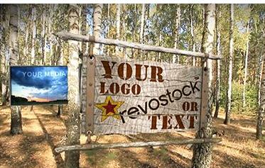 白桦树林logo展现 Birch Grove