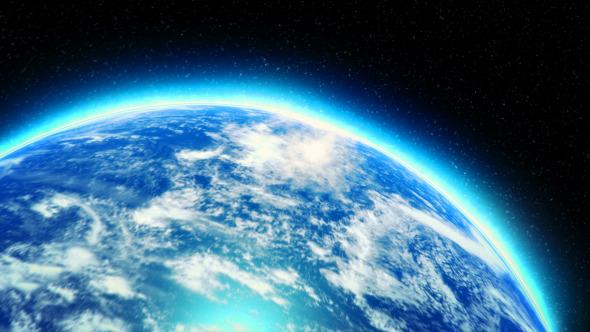 地球放大標志logo Earth Zoom Logo