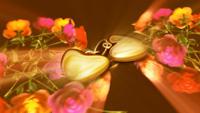 心形炫动浪漫气氛 超长心形动画婚礼常用背景视频素材(有背景音