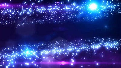 超炫星空闪光粒子 星光舞台晚会 静态视频配景素材