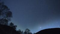 yunomaru_star 地球景色微速延时拍照 夜晚的星空繁星满天