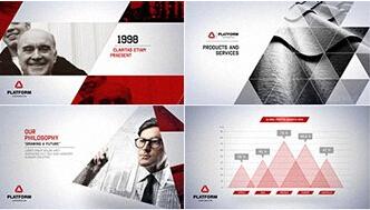 科技商务公司宣传视频AE模板 Corporate Video Package
