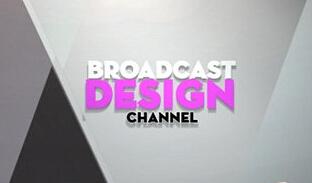 节目预报栏目包装设计AE模板 Broadcast Design Channel Ident