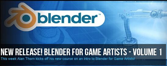 《游戏设计中的艺术-3D软件Blender教程卷一》3DMotive – Blende