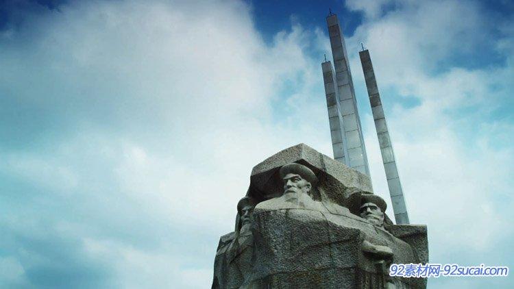 浙江宁波舟山城市宣传片城市空镜头景点名胜商务大楼公园大桥轮船