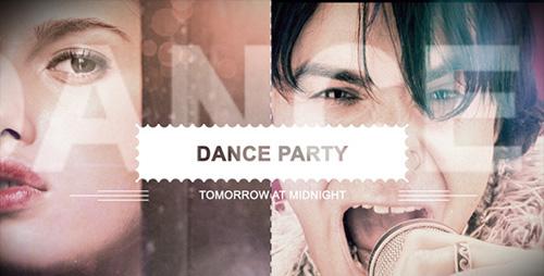 夜总会音乐舞会派对展示AE模板 Night Club Music And Dance Part