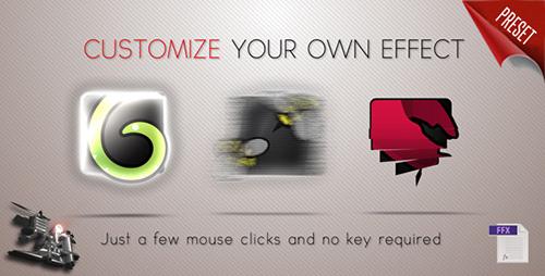 工具栏菜单栏介绍AE模板 Logo Effects Tool