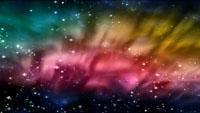 传奇神话浪漫收场星空配景视频