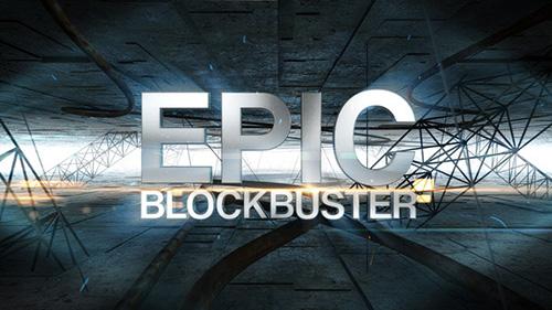 超?#31354;?#25788;大气史诗电影预告宣传片展示AE模板 Epic Blockbuster