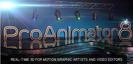 三维字幕模型动画制作插件 Zaxwerks ProAnimator AE 8.0.2