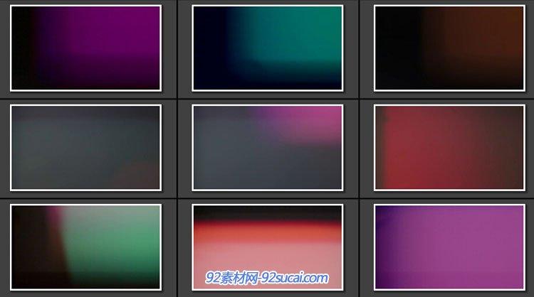 9组 Sensor Leaks 通明的夸耀光晕殊效视频
