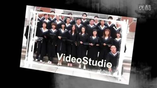 会声会影X6毕业模板 同学聚会纪念电子相册片头视频制作素材模版