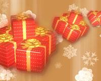 圣诞节日素材 圣诞大礼包 礼物盒 标清视频免费下载