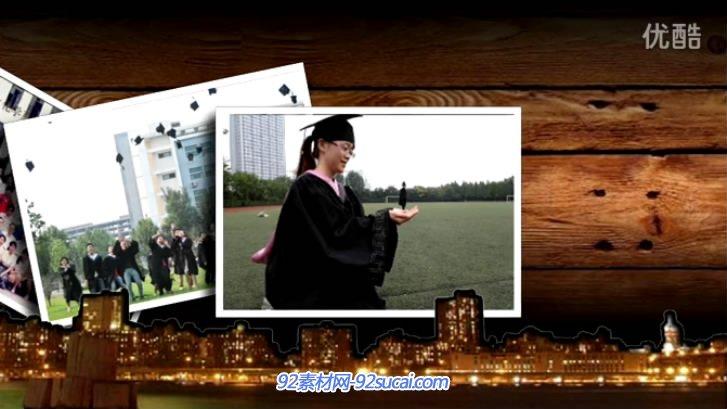 《幸福的回忆》会声会影X6毕业模板