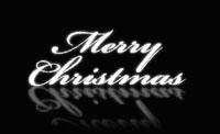 Merry Christmas Snow雪花粒子会聚英文圣诞节 带通道 动画视频