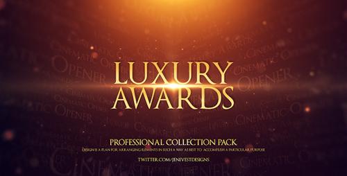 最新高端颁奖典礼介绍AE模板 Luxury Awards